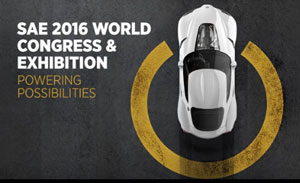 SAE 2016 World Congress & Exhibition