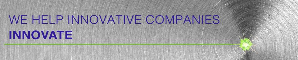 We help innovative companies innovate