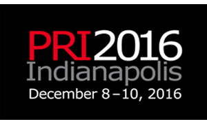 PRI2016 - Performance Racing Industry international conference, December 8-10, 2016