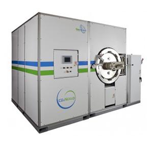 CO2Nexus - Tersus(TM) AA-40-00 commercial laundry machine that uses liquid CO2 instead of water