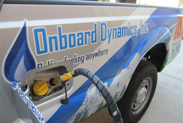 Onboard Dynamics - OBDI - CNG truck refueling - compressed natural gas vehicle