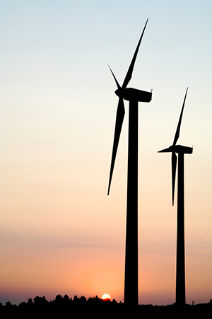Renewable energy: wind & solar power
