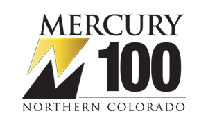 Logo of the 2015 Mercury 100 award for Northern Colorado's fastest-growing private companies