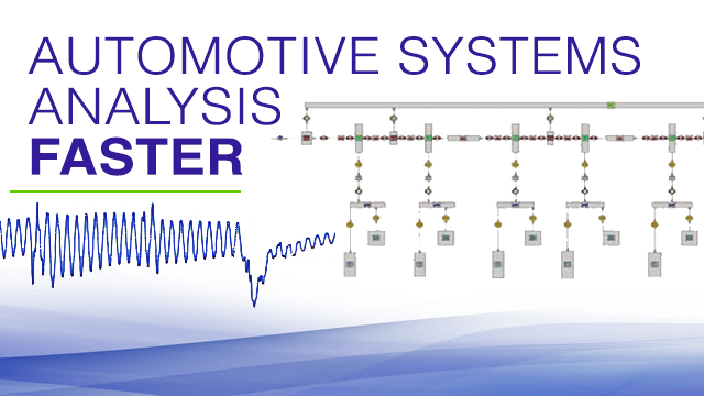 Automotive systems analysis using GT-SUITe