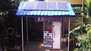 ColdHubs solar powered cold storage station