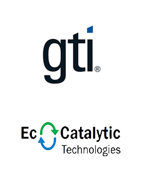 Gas Technology Institute and EcoCatalytic Technologies logos