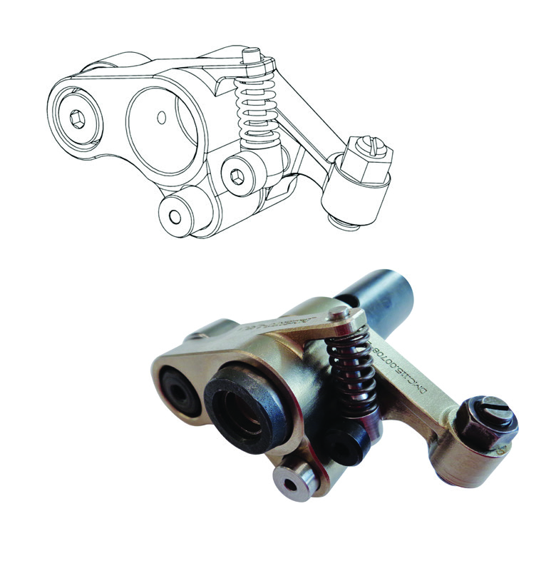 Rocker arm design