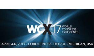 SAE World Congress 2017 - WCX17 logo with dates