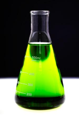 Green flask
